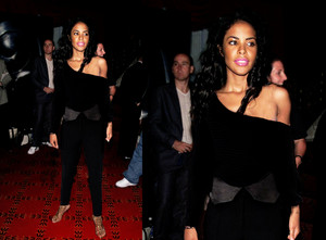 aaliyah in Alexander Wang