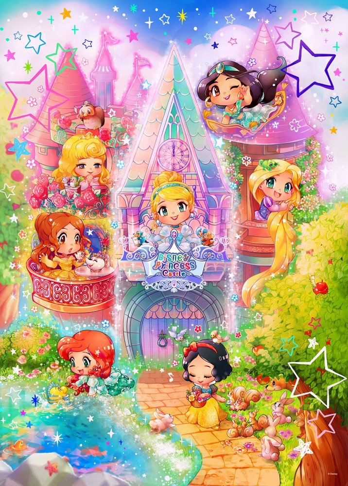 Adorable chibi Princesses