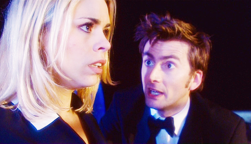 The Doctor and Rose wallpaper with a business suit called Age of Steel