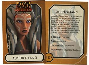 Ahsoka Tano Trading Card