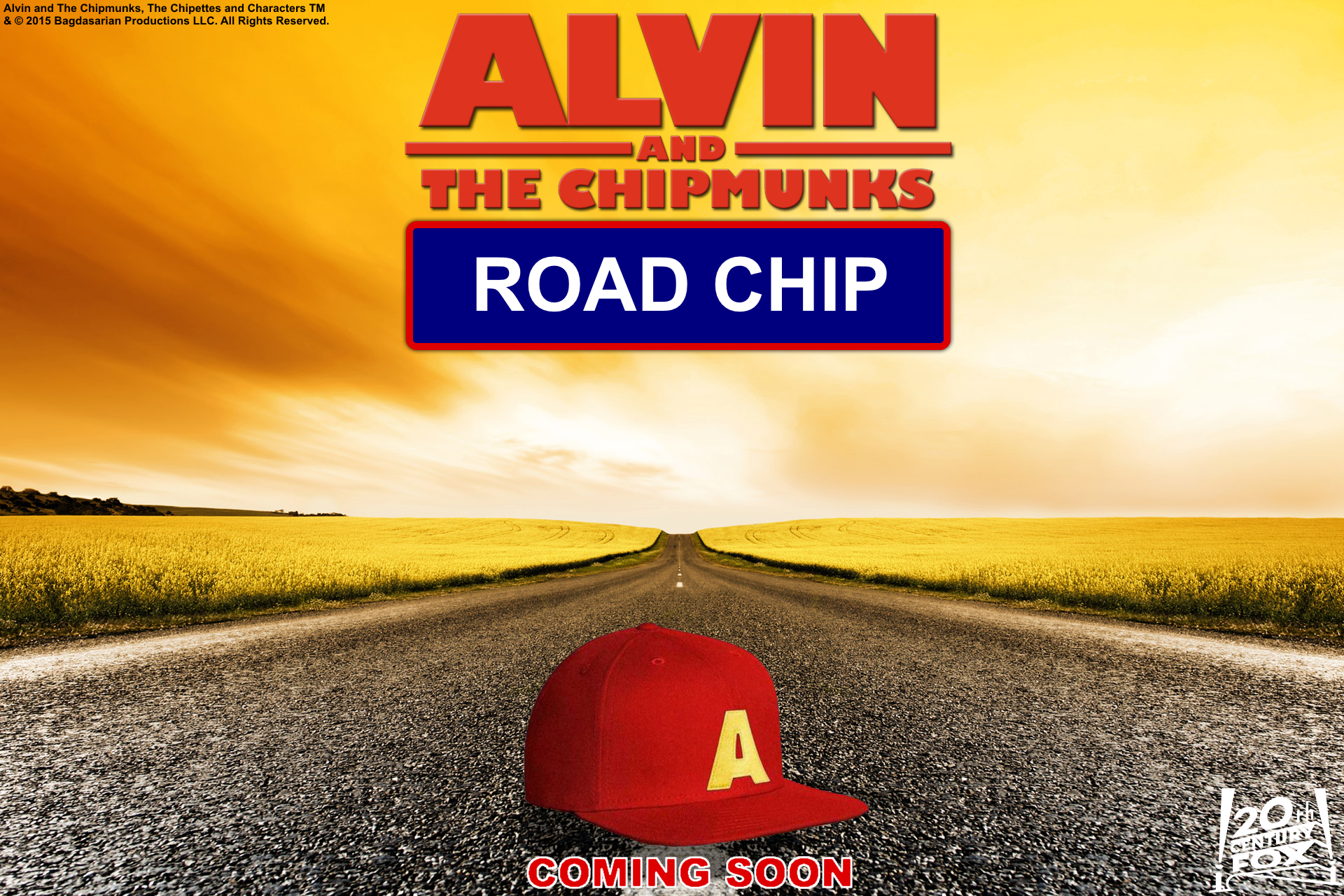 Alvin and the Chipmunks 4 Road Chip वॉलपेपर