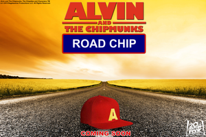 Alvin and the Chipmunks 4 Road Chip karatasi la kupamba ukuta