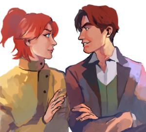 アナスタシア and Dimitri