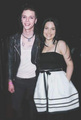 Andy Biersack and Amy Lee