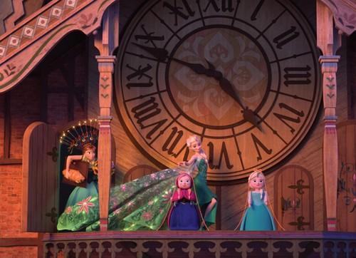 Frozen Fever Hintergrund entitled Anna and Elsa