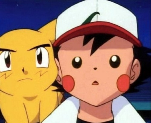 pokémon wallpaper titled Ash and pikachu Face Swap XD