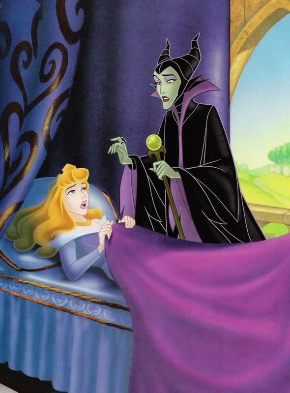 Aurora and Maleficent - Disney Princess Photo (38264068 ...