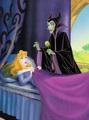 Aurora and Maleficent  - disney-princess photo