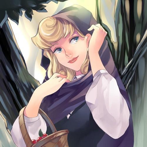 ডিজনি Extended Princess দেওয়ালপত্র entitled Aurora