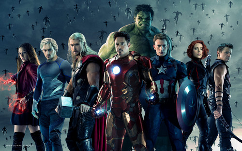 The Avengers wallpaper possibly containing a tabard entitled Avengers: Age of Ultron