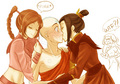Azula/Aang  - avatar-the-last-airbender fan art