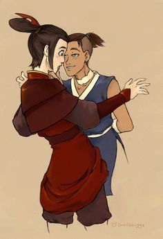 Azula and Sokka