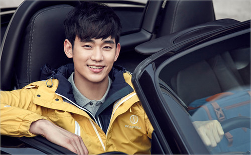 Kim SooHyun wallpaper containing an automobile entitled BEANPOLE OUTDOOR S/S 2015 Lookbook Feat. Kim Soo Hyun