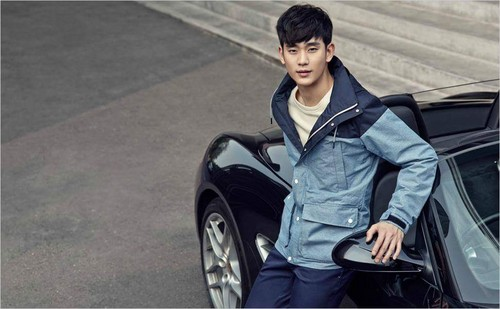 Kim SooHyun wallpaper possibly containing an automobile entitled BEANPOLE OUTDOOR S/S 2015 Lookbook Feat. Kim Soo Hyun