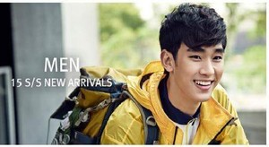 BEANPOLE OUTDOOR S/S 2015 Lookbook Feat. Kim Soo Hyun