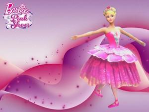 बार्बी In The गुलाबी Shoes