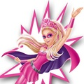 búp bê barbie Princess Power