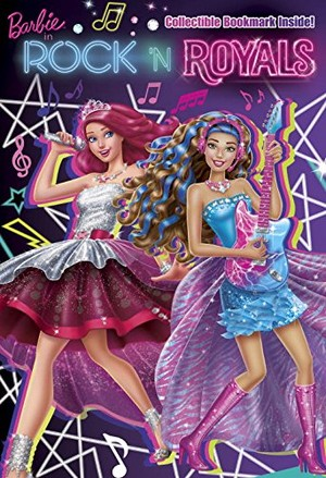 Barbie in Rock'n Royals Book