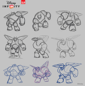 Big Hero 6 - Disney Infinity Concept Art