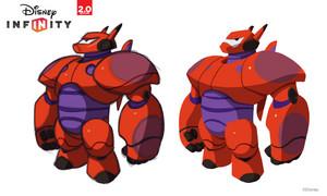 Big Hero 6 - Дисней Infinity Concept Art