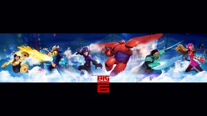 Big Hero 6 kertas dinding