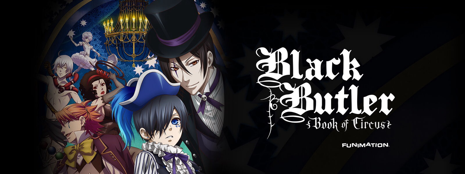 Black Butler Book Of Circus Opening