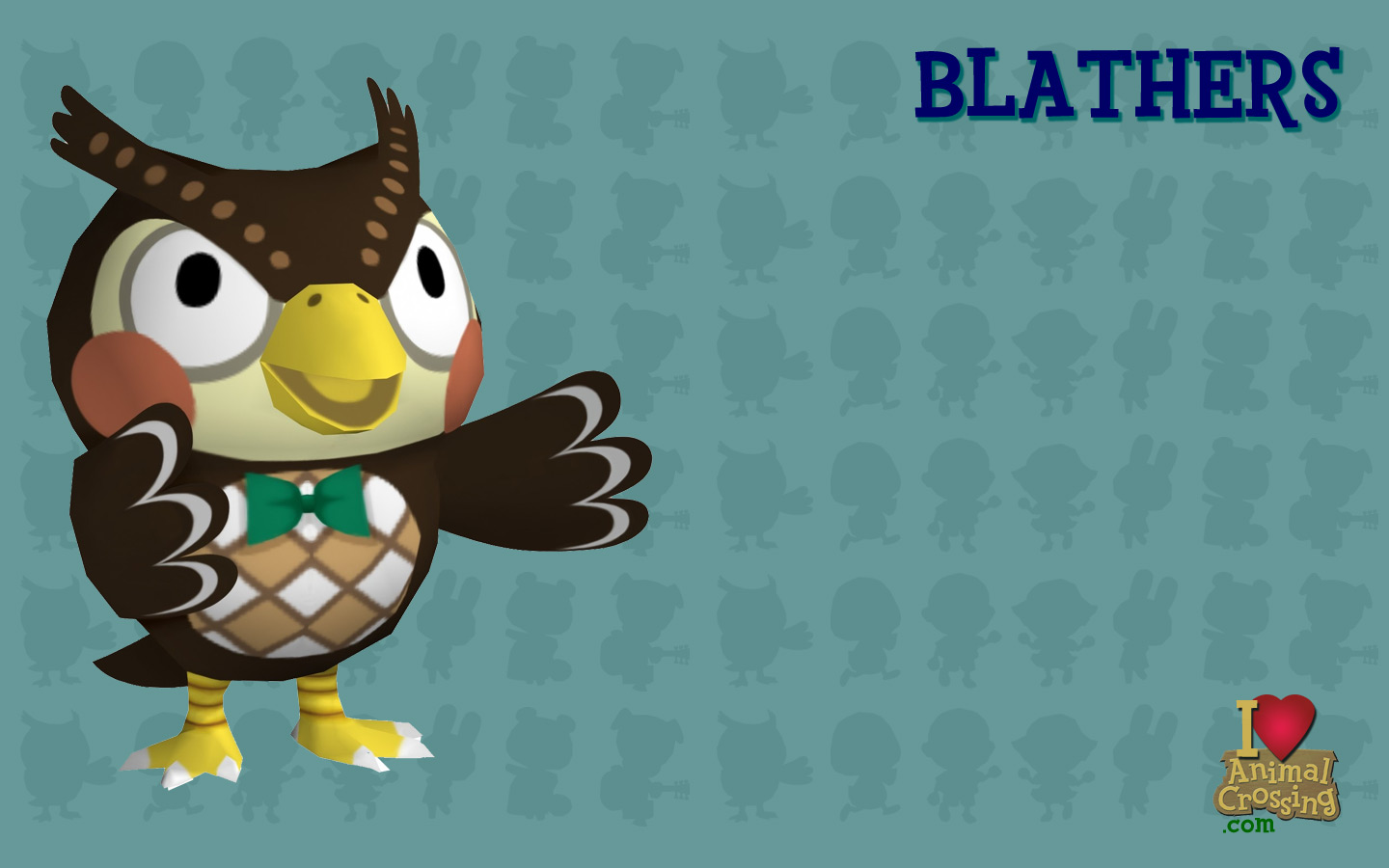 Blathers Animal Crossing New Leaf Wallpaper 38288059 Fanpop