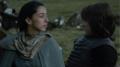 Bran meets Talisa xD - game-of-thrones fan art