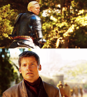 Brienne and Jaime
