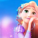 CREDIT GOES TO PETITETIARAS ON TUMBLR - Rapunzel icon.