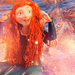 CREDIT TO PETITETIARAS ON TUMBLR - Merida icon.