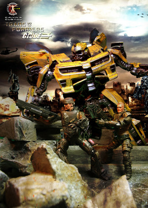 Calvin's Custom 1:18 G.I.Joe X Transformers
