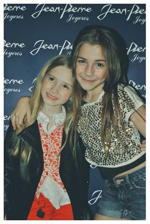 Camila Muraca y Lola Poggio