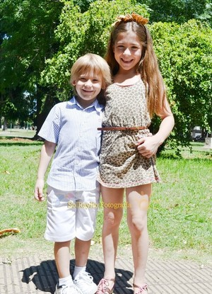 Camila Muraca y Tomas Muraca