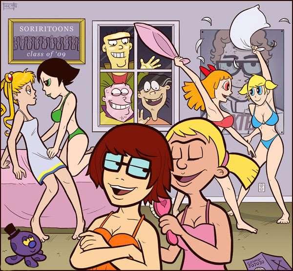 Cartoon trường đại học