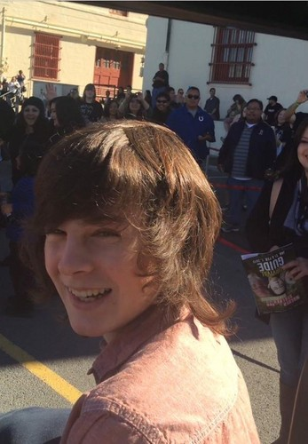 Chandler Riggs wallpaper with a street called Chandler Riggs
