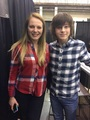 Chandler and Emma - chandler-riggs photo