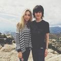 Chandler and Hana - chandler-riggs photo
