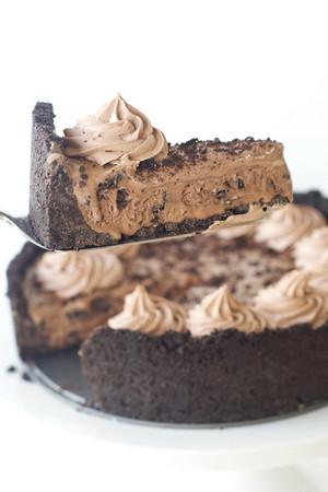 cokelat Ice Cream Cake