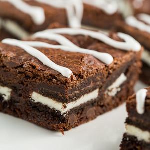 chocolate Oreo Brownies