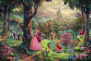 Classic Disney Artwork