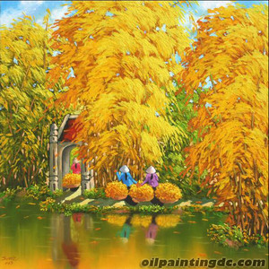 DC gallery – VietNam oil painting