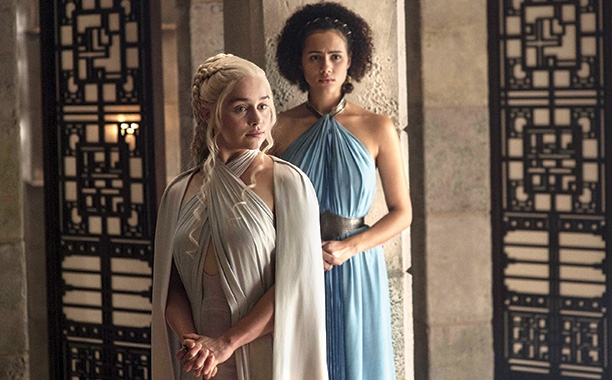 Daenerys Targaryen and Missandai Season 5