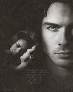 Damon/Bonnie