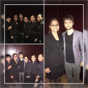 Daniel Radcliffe At Morton's Macau (Fb.com/DanieljacobRadcliffeFanClub)