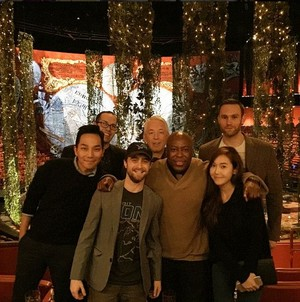 Daniel Radcliffe At 'reggie martin's' Birthday In Macau, China (Fb.com/DanieljacobRadcliffefanClub)