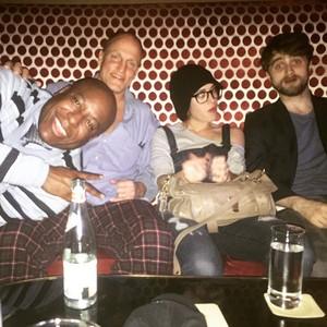 Daniel Radcliffe & Woody Harrelson With fans In Macau,China! (Fb.com/DanielJacobRadcliffeFanClub)