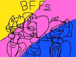 Dash, Amelia n Ashton - BFFs