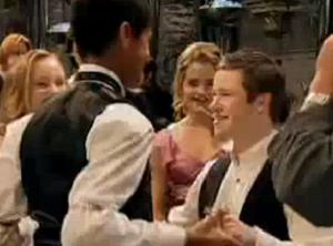 Dean seamus dance hermnione