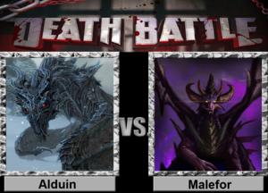 Death Battle: Alduin VS Malefor